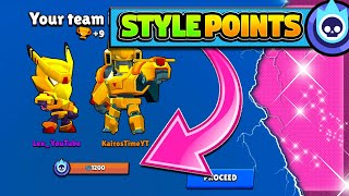 Hidden Currency in Brawl Stars? | TWO Golden Mecha Skins Unlock Style Points!