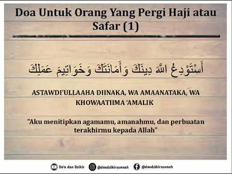 Doa Pulang Haji.