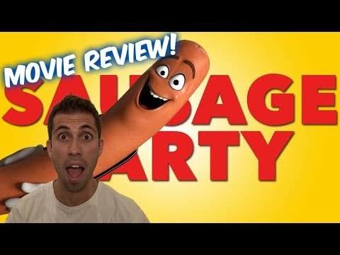 Sausage Party (2016)!!-Movie Review!! (An Adult Cartoon Movie?)