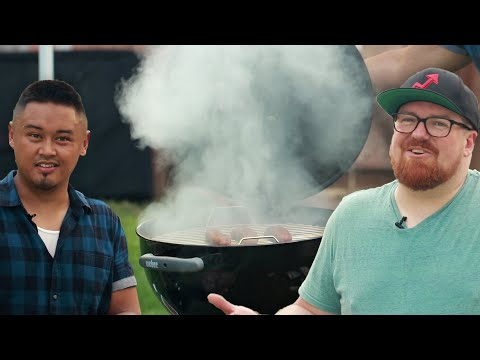 Download Youtube: DIY Charcoal Grill Smoker: Behind Tasty