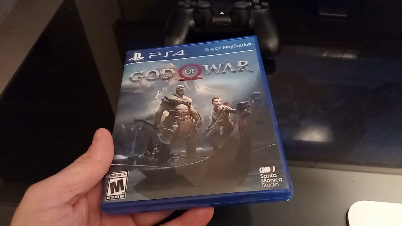 God of War Unboxing (2018 - PS4) [No Game]