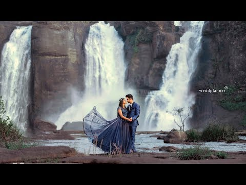 Kerala  Hindu Post Wedding Shoot At Athirappally  Anoop +Neethu
