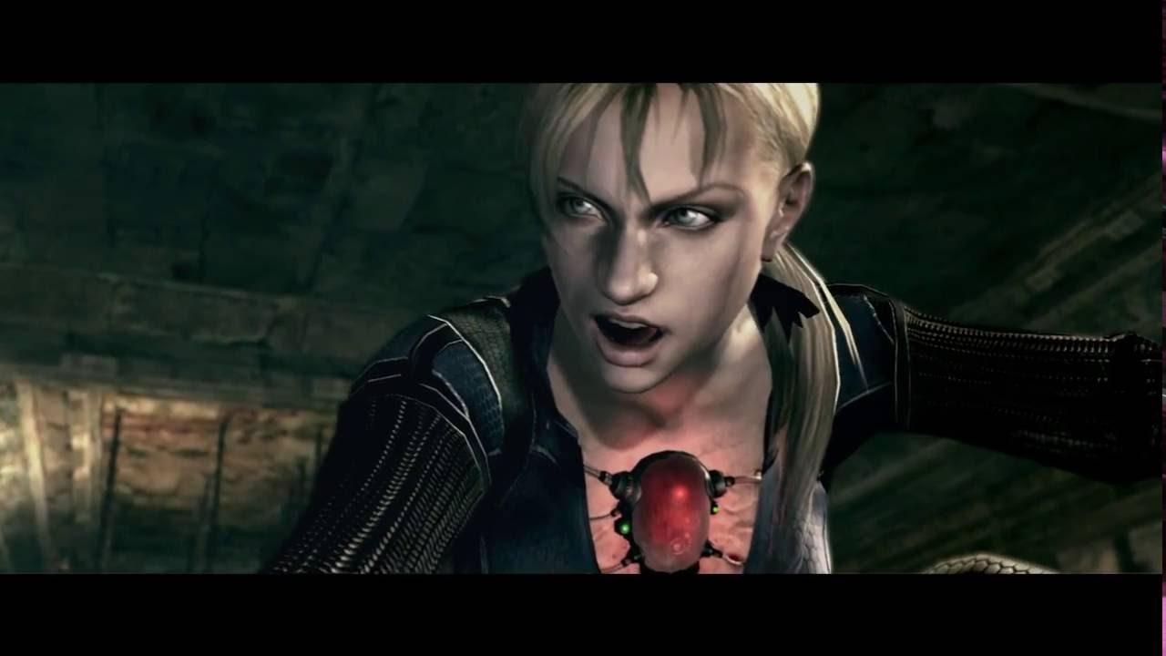 Resident Evil 5 Jill Valentine Boss