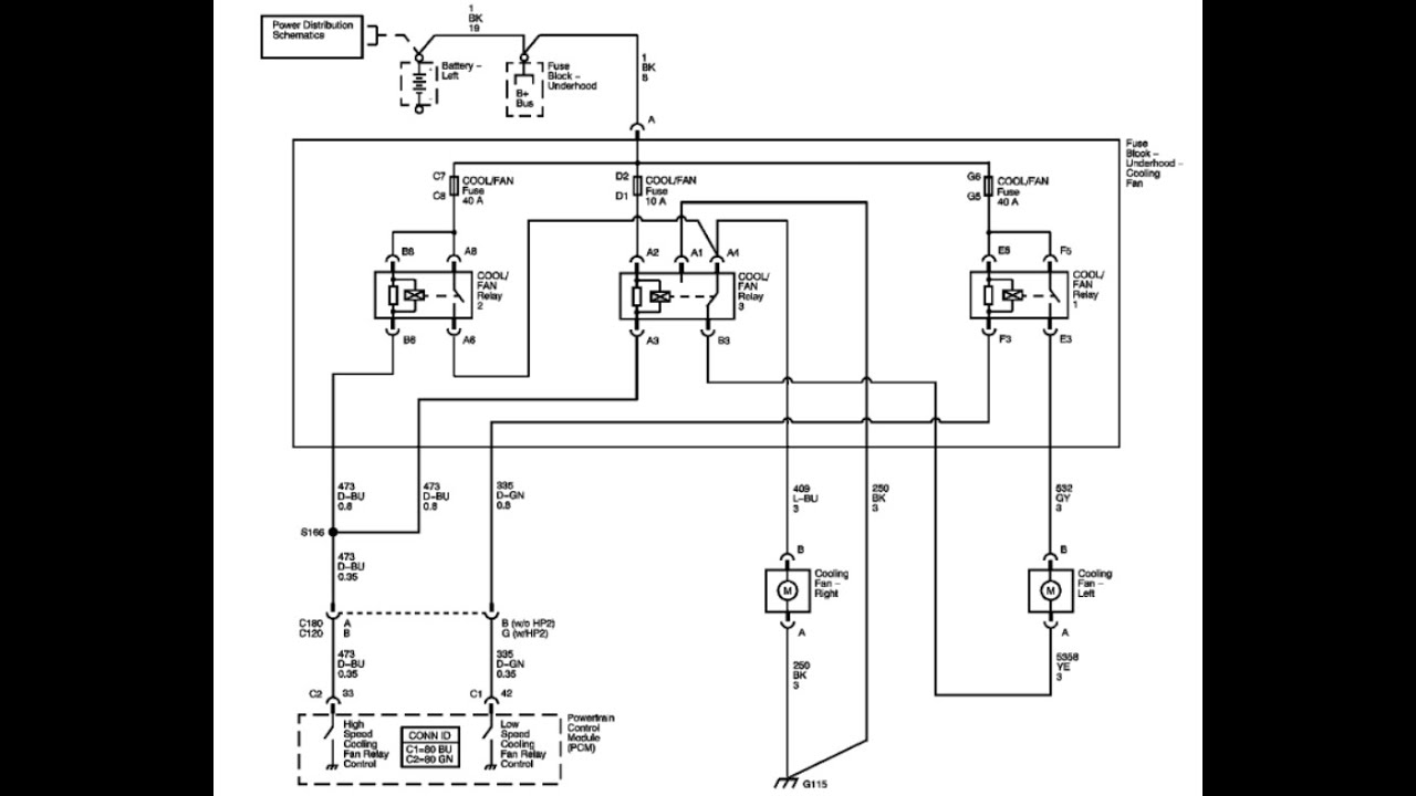 Lectura De Diagrama  P0480 Fan Relay  Part 2