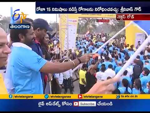 Awareness Run on Health | 10,000 Runners Take Part | in Necklace Road thumbnail