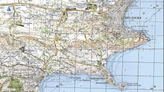 видео Карта Крыма подробная с городами и поселками