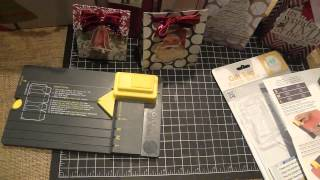 Christmas Gift Bags Using The We R Memory Keepers Gift Bag Punch Board