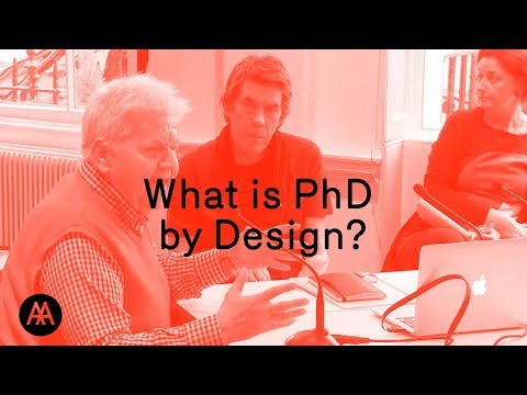 What is PhD by Design?
