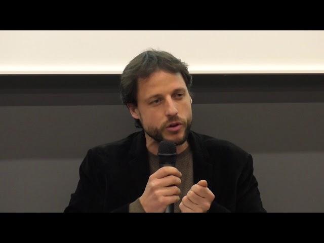 Introduction de la soirée par Léo Coutellec