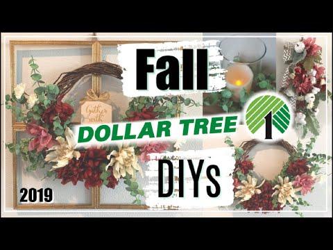 Fall Dollar Tree DIYs 2019 | 3 Fall Decor Ideas | Momma From Scratch