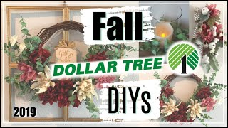 Fall Dollar Tree DIYs 2019 | 3 Fall Decor Ideas | Momma From Scratch