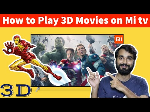 How To Play 3D Movies On Mi Tv | Android Tv Me 3D Movie Kaise Play Kare | 3D Movies On Smart Tv | Tz