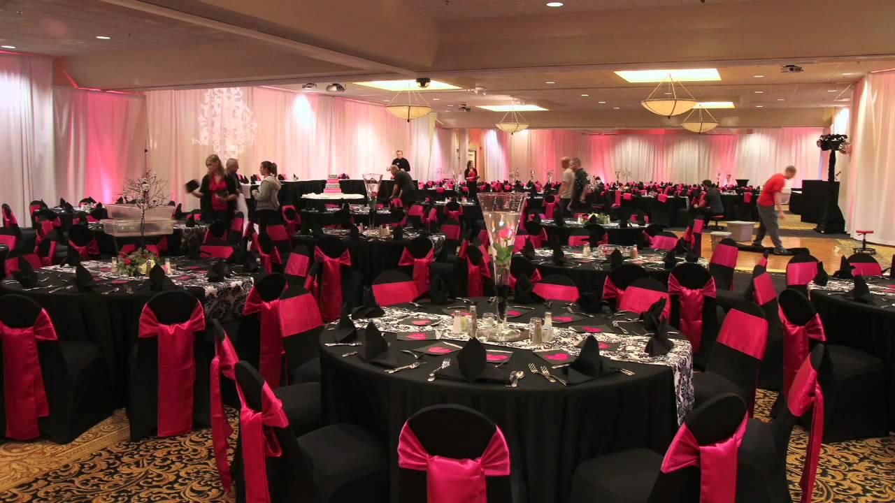 Hilton Garden Inn Wedding Setup Youtube