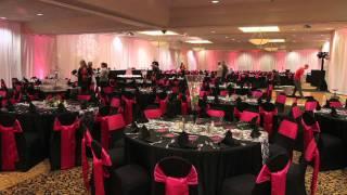 Hilton Garden Inn - Wedding Setup