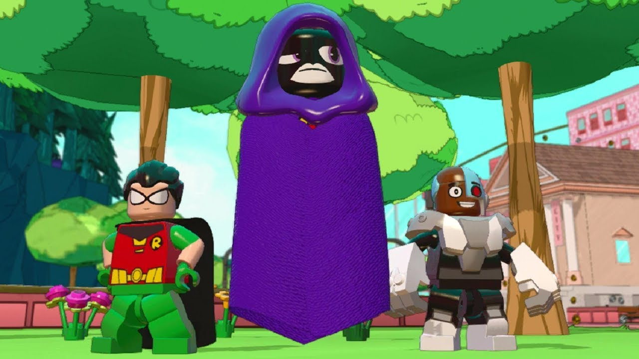 Lego Dimensions - Raven Teen Titans Go Free Roam -8819