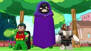 LEGO Dimensions - Raven (Teen Titans Go!) Free Roam Gameplay