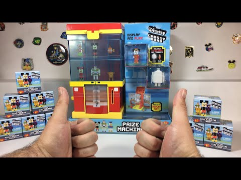 Disney Crossy Road Prize Machine Unboxing Live!