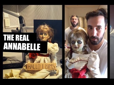 The real ANNABELLE DOLL!