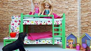 ПОКА МАМЫ НЕТ ДОМА ! Мультик Барби – игры в куклы для девочек
