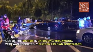 Penang highway shooting: Datuk killed by own bodyguard