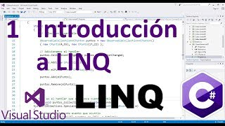 En esta lección vemos los conceptos básicos de LINQ y realizamos nu...
