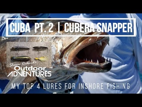 Cuba Pt. 2   Cubera Snapper   MY TOP 4 LURES For Fishing In Cuba   Cayo Coco, Paradon & Guillermo