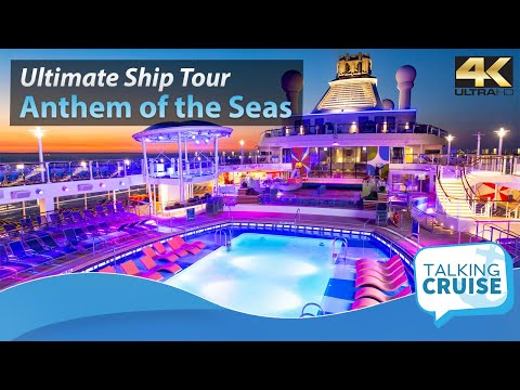 Anthem of the Seas - Ultimate Cruise Ship Tour - 2018