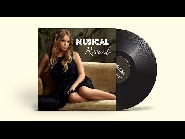 Cover & Template Design | Adobe Illustrator/Photoshop | Musical Records ( Part 2 )