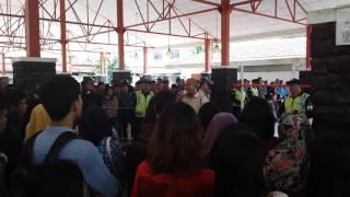 Ribuan Pelamar Kerja Padati Comunity Center (CC) Kawasan Industri Batamindo Batam