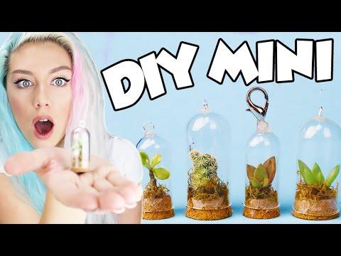 Diy Mini Succulent Terrarium So Cute Cell Phone Charm Key Chain