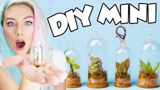 DIY MINI SUCCULENT TERRARIUM! SO CUTE! Cell Phone Charm/Key Chain/Necklace | NICOLE SKYES