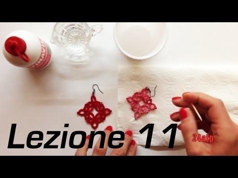 Chiacchierino Ad Ago - 11˚ Lezione Come Indurire Inamid Pizzo Bijoux - ...