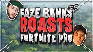 FaZe Banks ROASTS FaZe Tennp0 !