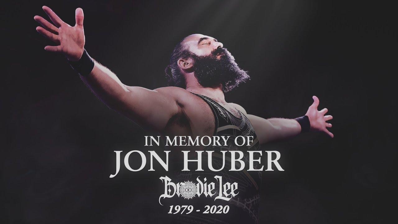 AEW Pays Tribute to Jon Huber aka Brodie Lee
