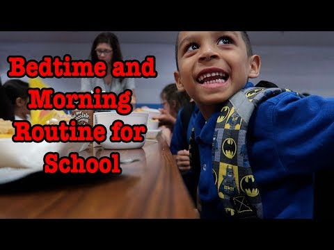 Thumbnail: GETTING READY FOR SCHOOL - Deion's Morning Routine!