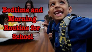 GETTING READY FOR SCHOOL - Deion's Morning Routine!