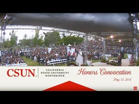 CSUN Commencement 2018: Honors Convocation
