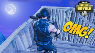NOSCOPE FROM THE MOON! LONGEST Noscope VICTORY Kill Ever on Fortnite! (Fortnite Battle Royale)