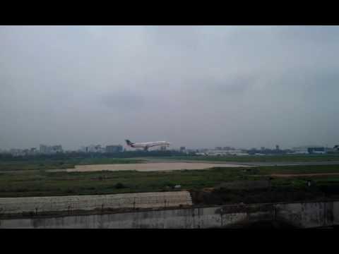 Novo Air Landing Towards Runway 14 of HSIA Dhaka, Bangladesh