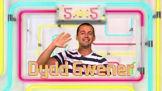 5 am 5 Dydd Gwener - Cwestiynau