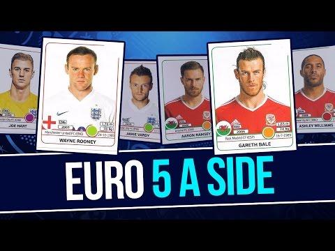 England v Wales | Euro 5 a Side - Laura Woods v Alex Scott