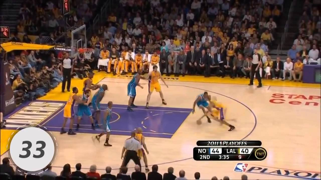 Kobe Bryant Top 100 Plays of Career