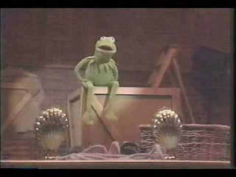 Kermit the frog - its not easy being green