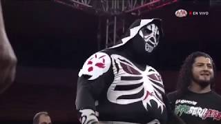 Los Ingobernables Vs Blue Demon JR, Drago y Laredo Kid | Lucha Libre Triple A desde Cancún | 2020