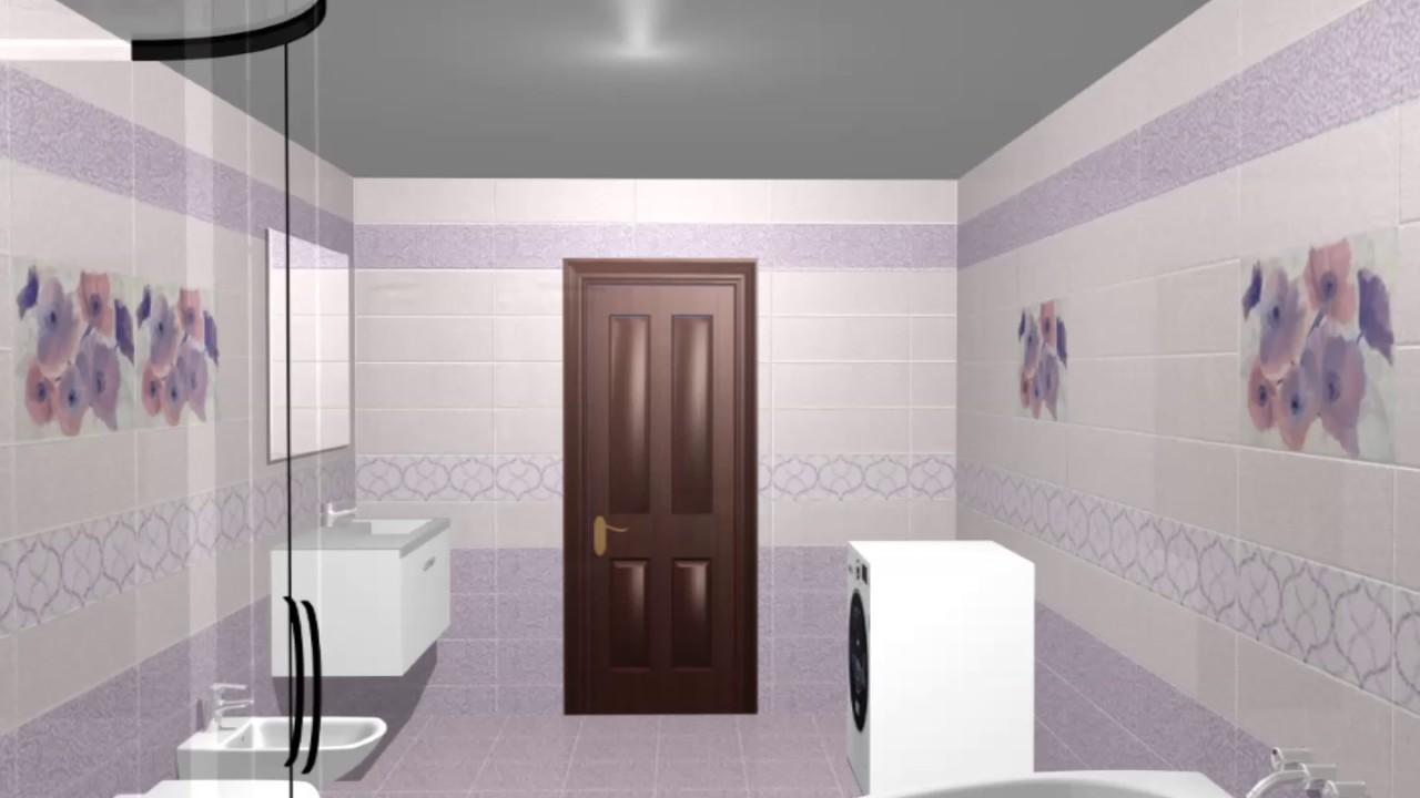 Model de design pentru baie gresie faianta si decoruri for Modele gresie si faianta baie