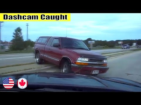 Ultimate North American Cars Driving Fails Compilation - 253 [Dash Cam Caught Video]