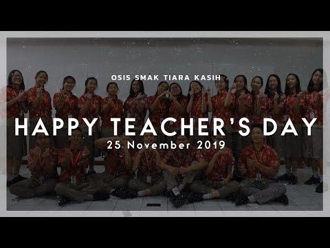 Teacher's Day | OSIS SMAK Tiara Kasih