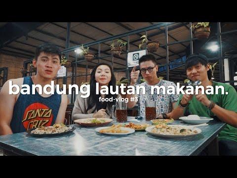 Bandung Lautan Makanan bareng KyraNayda & Mr Yamamoto PART1 - FLOG#3