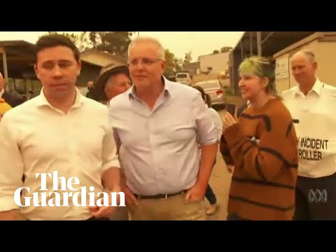 'You're not welcome': Australian PM Scott Morrison heckled by bushfire victims