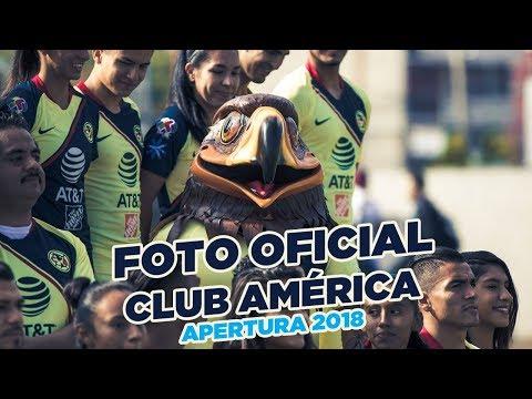 Foto oficial Club América Apertura 2018 Nido de Coapa